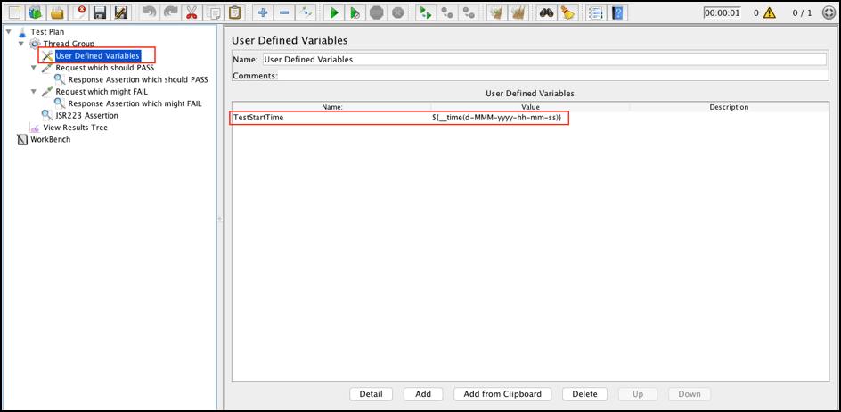 guide for debugging jmeter