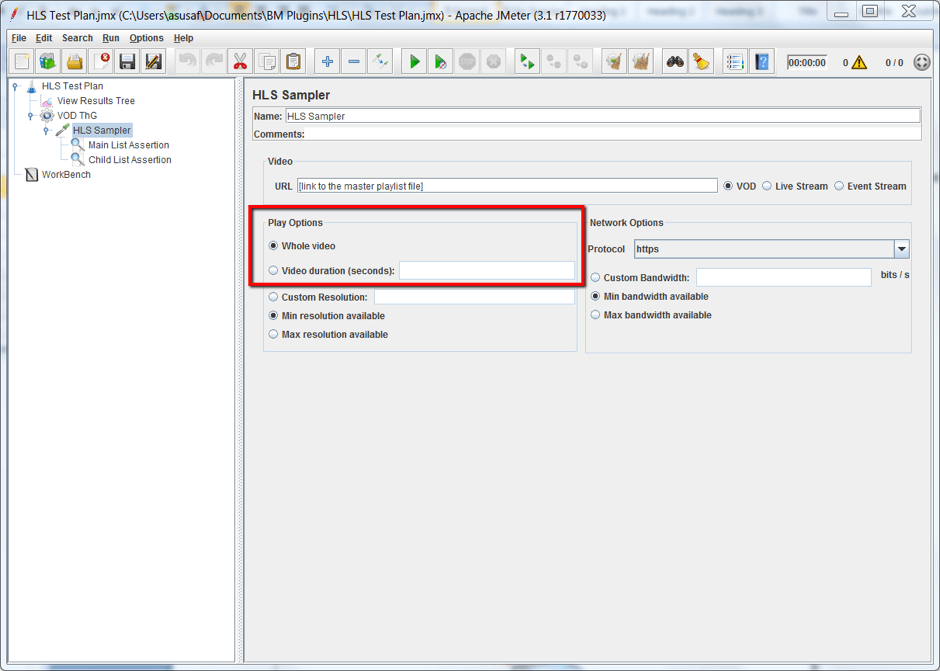 writing custom sampler for jmeter