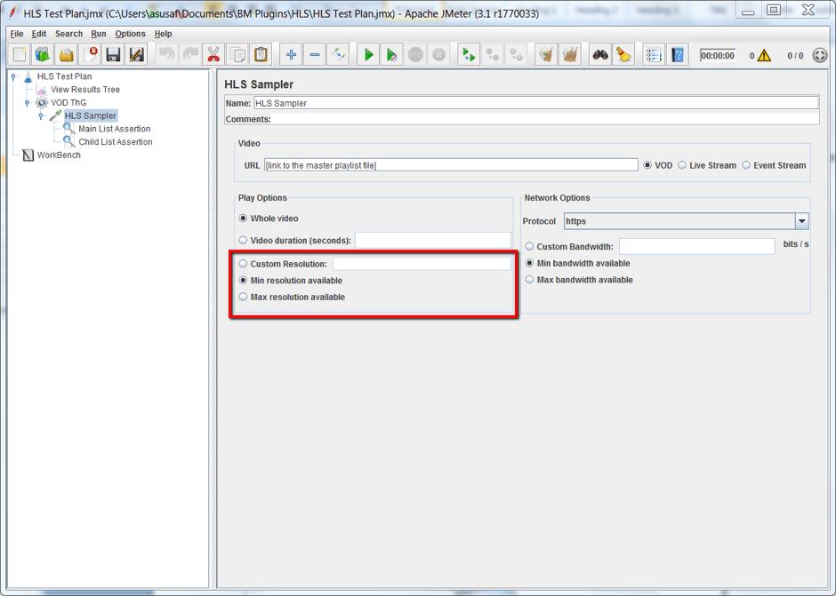 live meida load testing performance testing jmeter