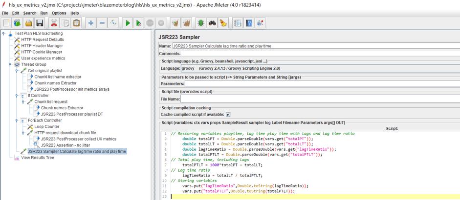 Monitoring UX Metrics in HLS Load Testing in JMeter - DZone