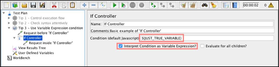 jmeter如果条件如何使用jmeter负载测试开源