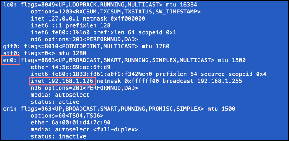 guide to running test for several ip addresses