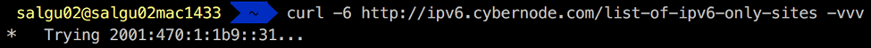 load testing ipv6
