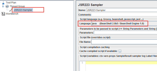 Creating JMeter Variables in Java