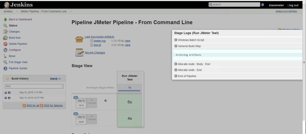 jenkins jmeter pipeline configuration
