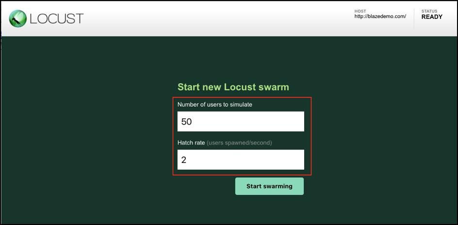 locust or jmeter