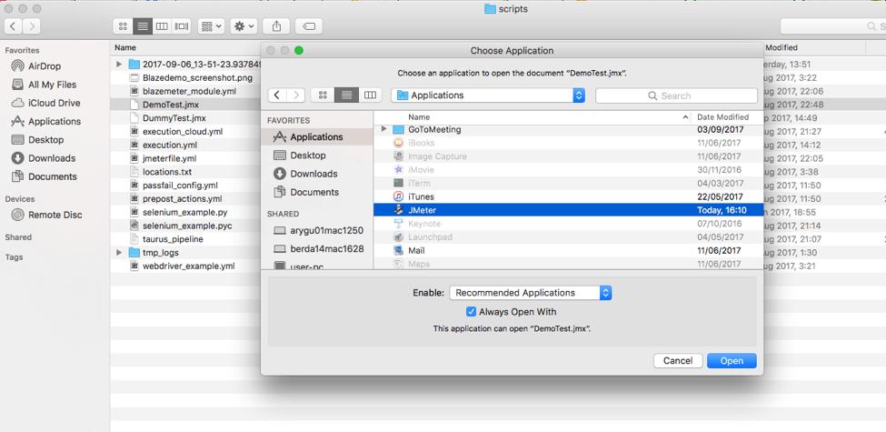 jmx, jmeter, mac, click, open