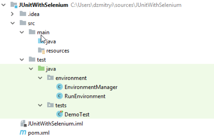 junit, selenium webdriver, open source