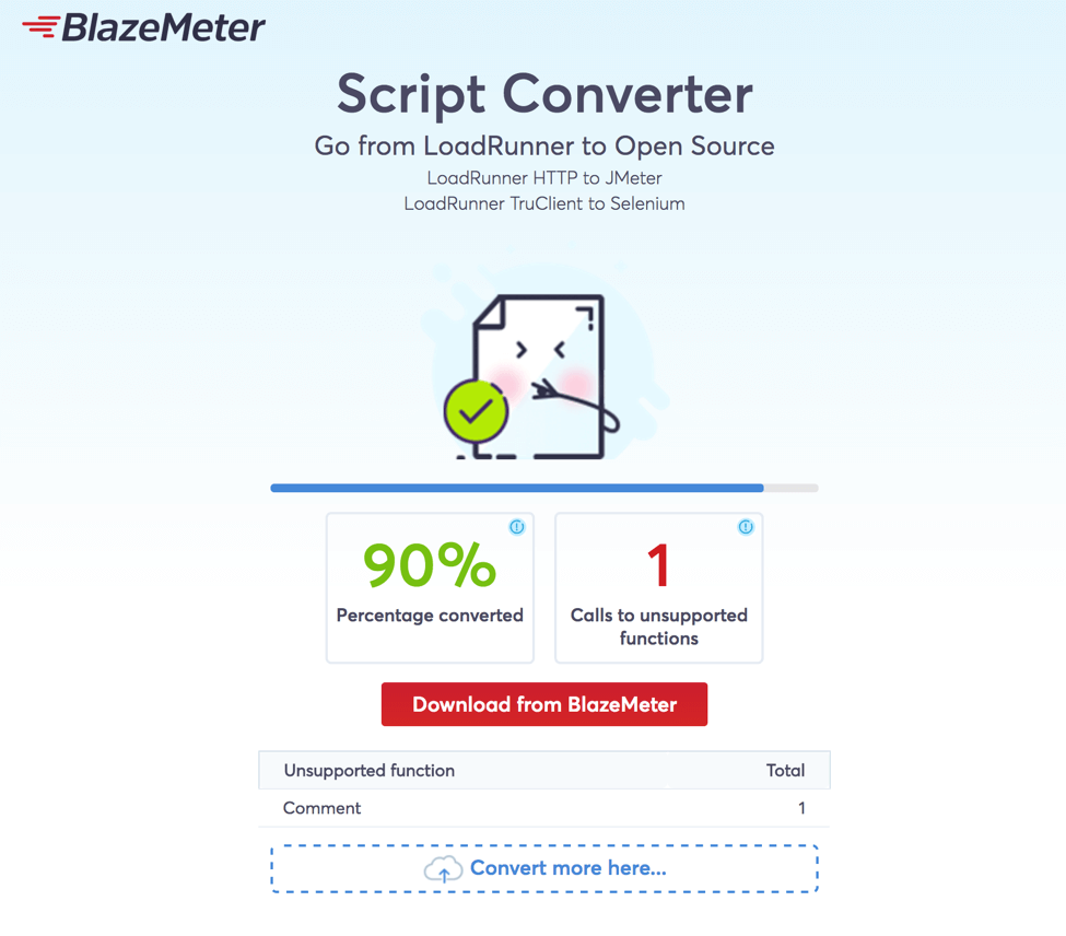 loadrunner to selenium quickly