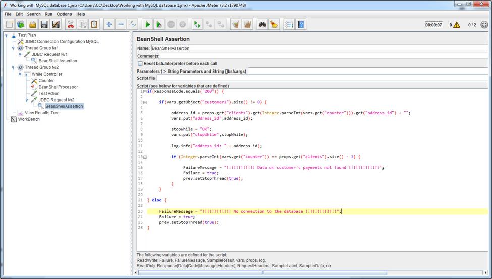 load testing multiple mysql databases