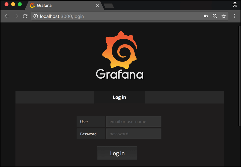 use grafana for performance monitoring
