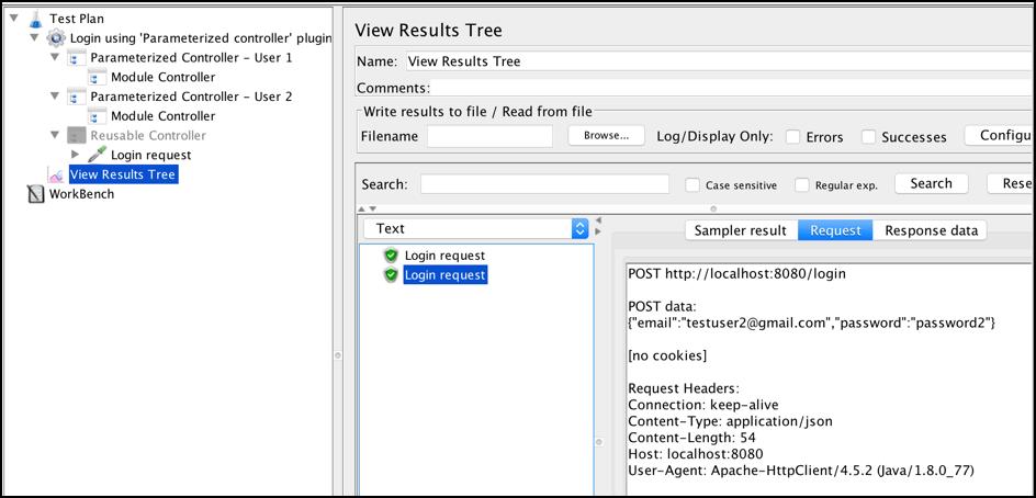 parameterization load testing