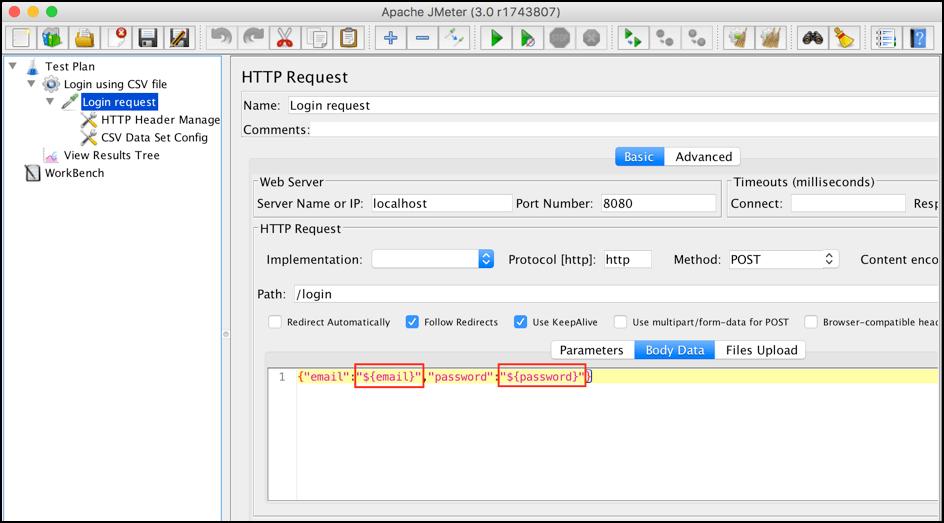 jmeter parameters - a guide