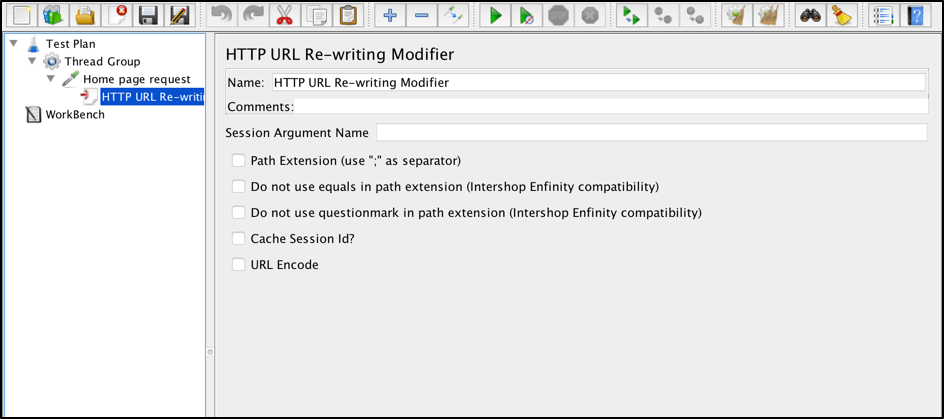 jmeter html url re-writing modifier