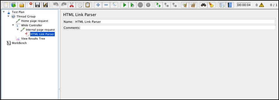 jmeter html link parser preprocessor