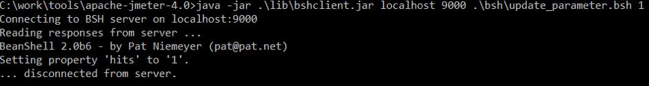test run, throughput update