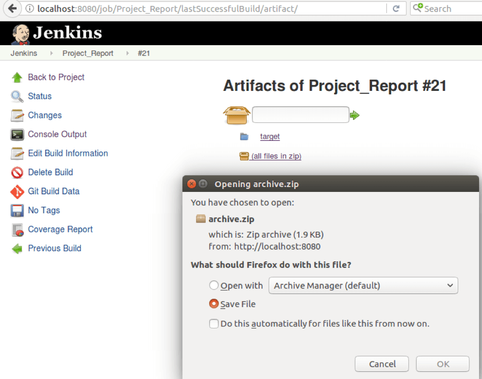 screenshots, selenium tests, jenkins