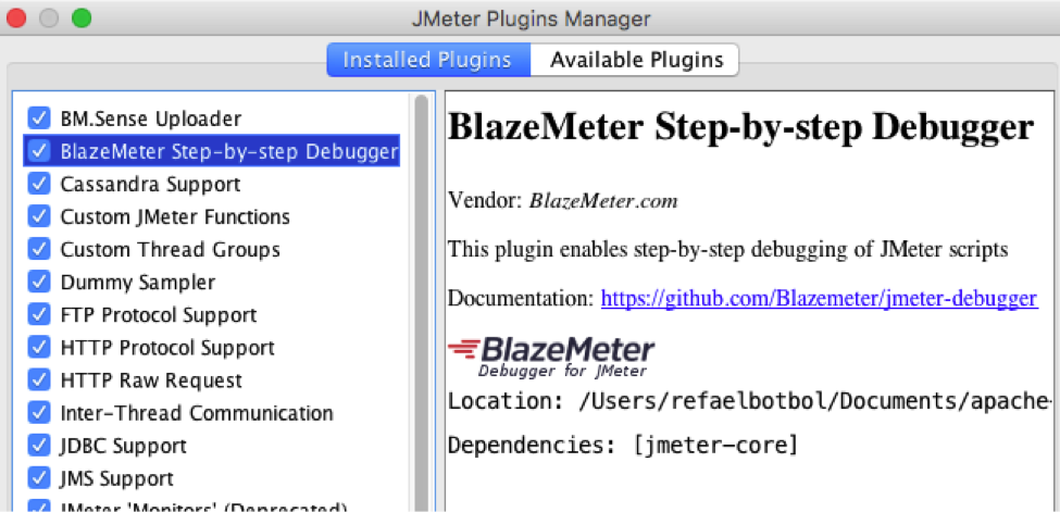 JMeter Step-by-Step Debugger
