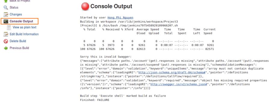 swagger, openapi, shell script