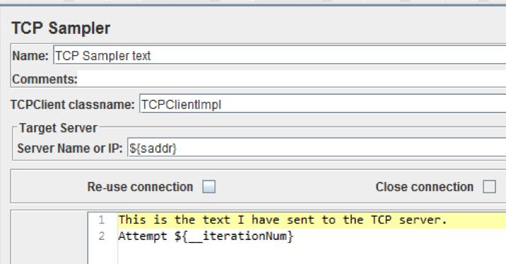 tcp sampler class name jmeter