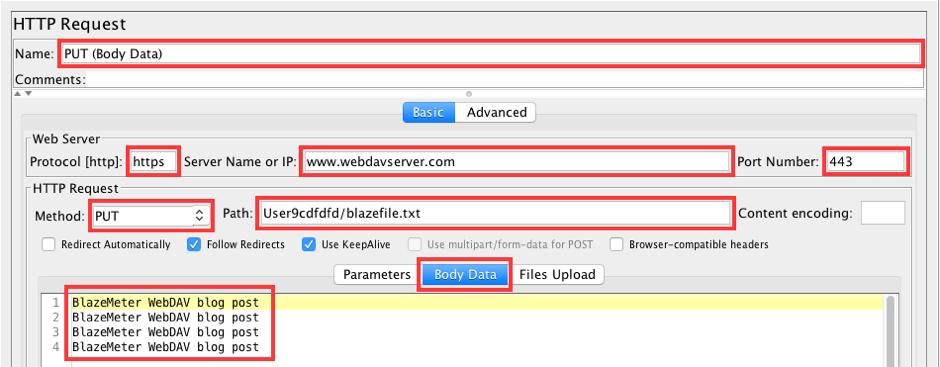 load testing webdav servers
