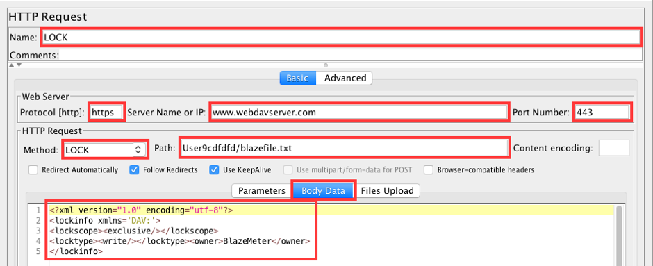 Load testing WebDAV