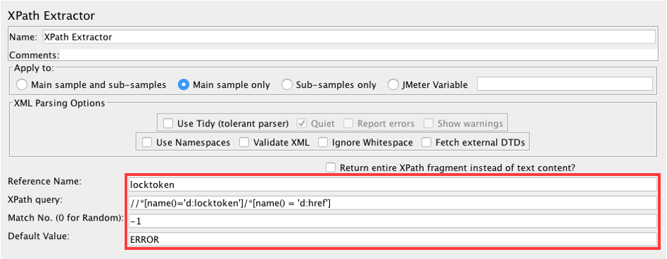 jmeter, webdav servers, load testing