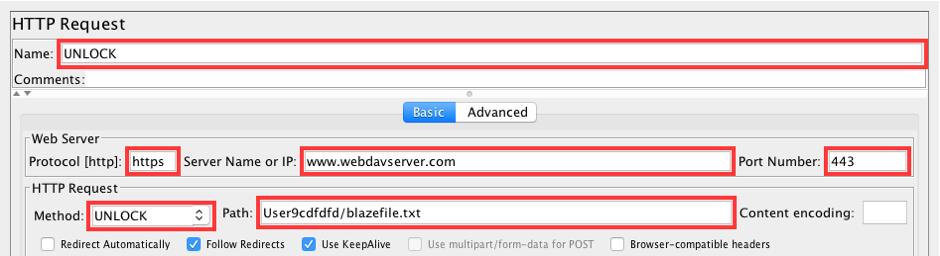 guide to webdav load testing