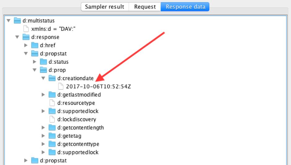 jmeter webdav testing