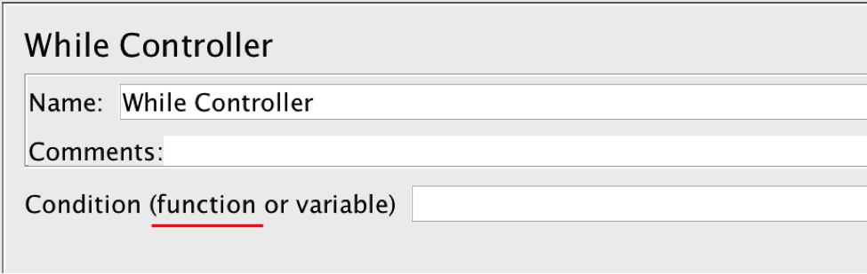 jmeter での while コントローラの使用 blazemeter