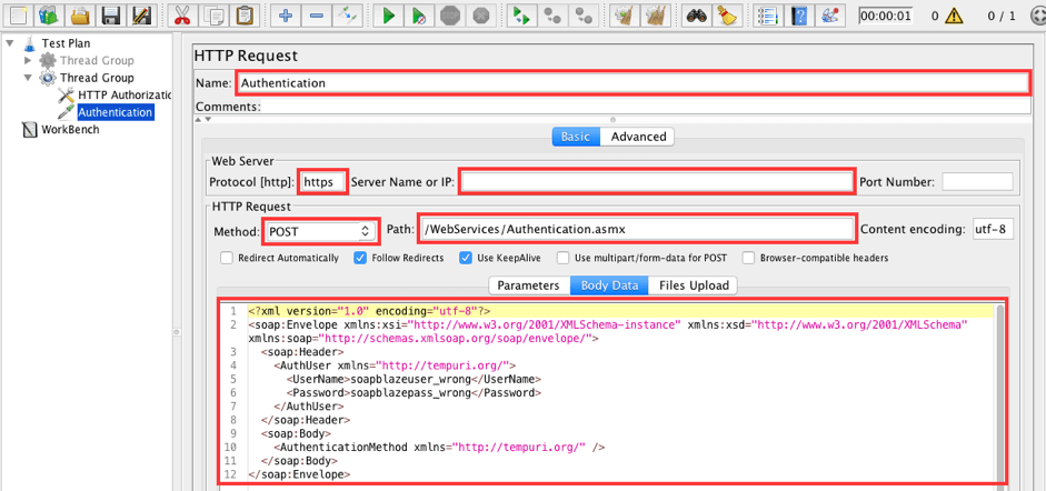 How to Load Test WSDL Authentication with JMeter | BlazeMeter