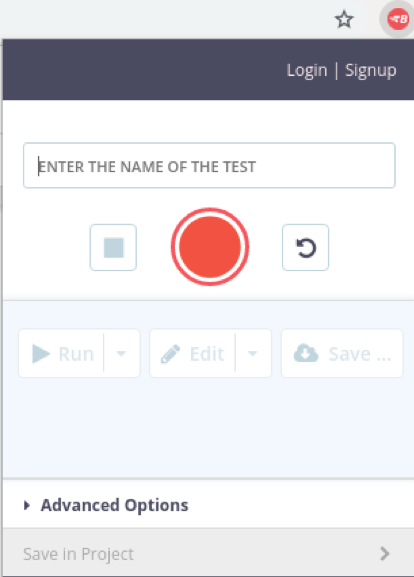 GUI Functional Testing with BlazeMeter Chrome Extension