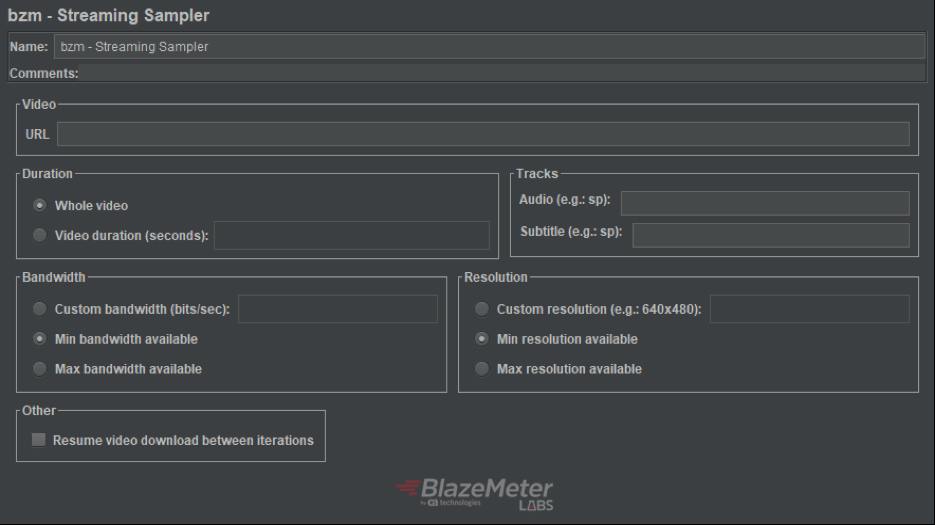 HLS JMeter plugin