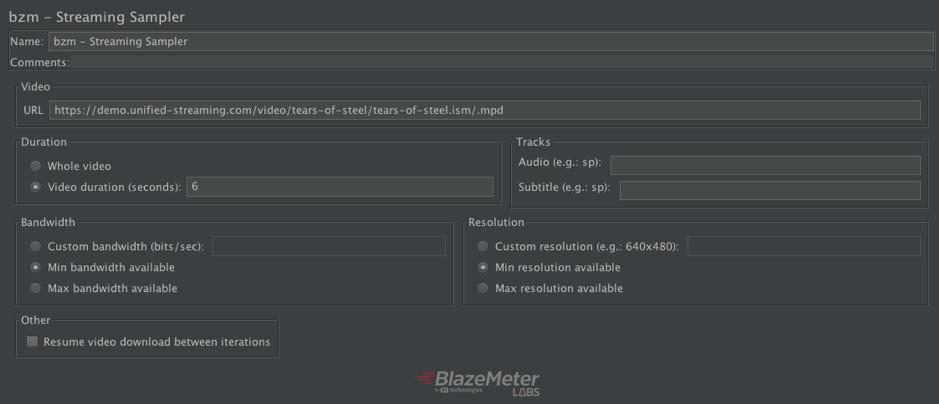 JMeter testing HLS plugin
