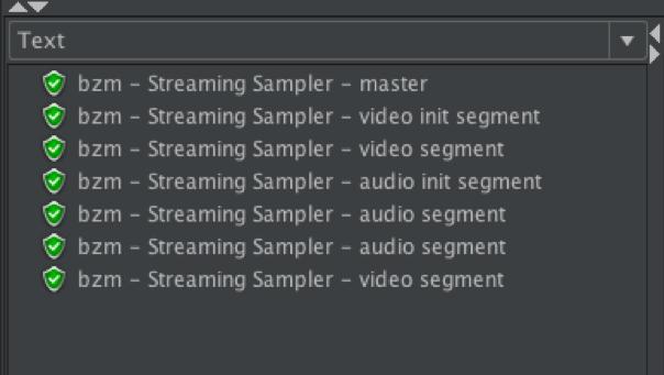 JMeter plugins HLS testing