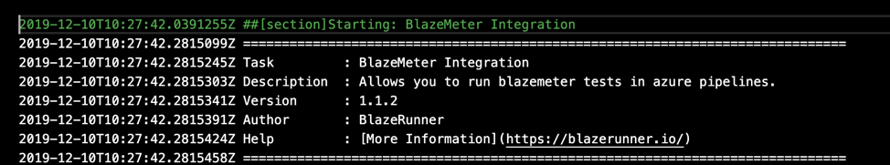 BlazeMeter Azure DevOps Extension
