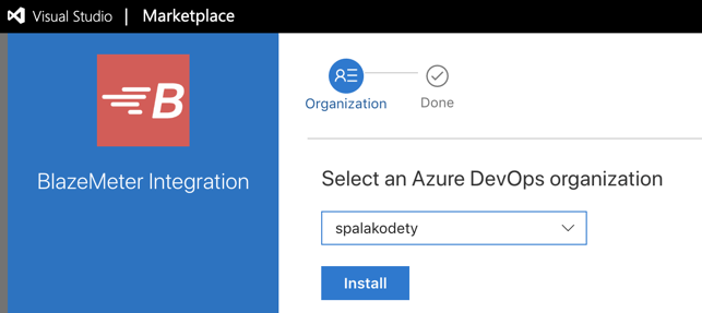 Azure DevOps Blazemeter Extension