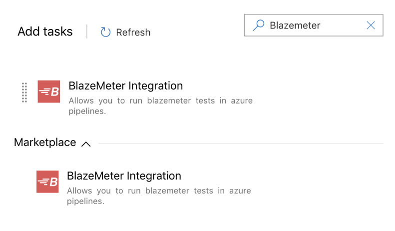 Installing the BlazeMeter Azure Extension