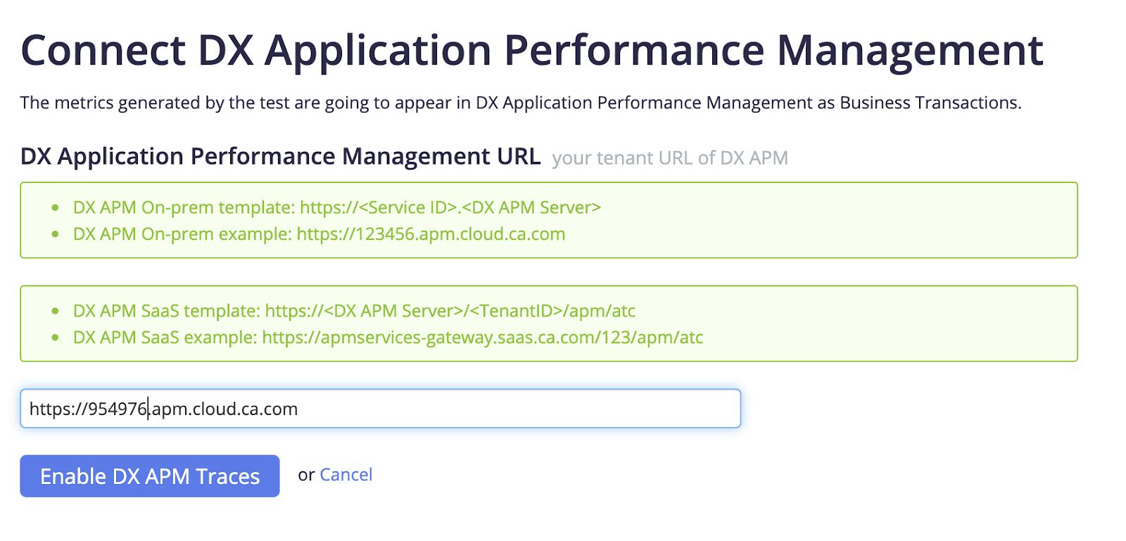 DX Application Performance Management