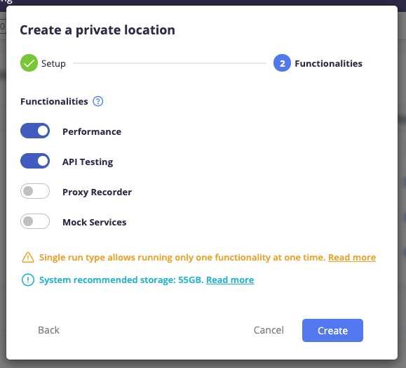 New way to Create Private Location BlazeMeter