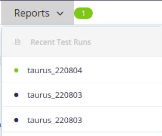 Taurus reporting