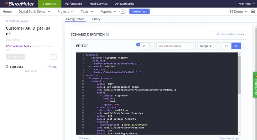 API Testing with Taurus