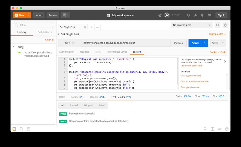 Postman, Newman, BlazeMeter, API Functional Testing