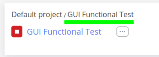local GUI Functional Test with Taurus