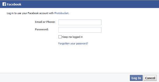 how to create account in photobucket