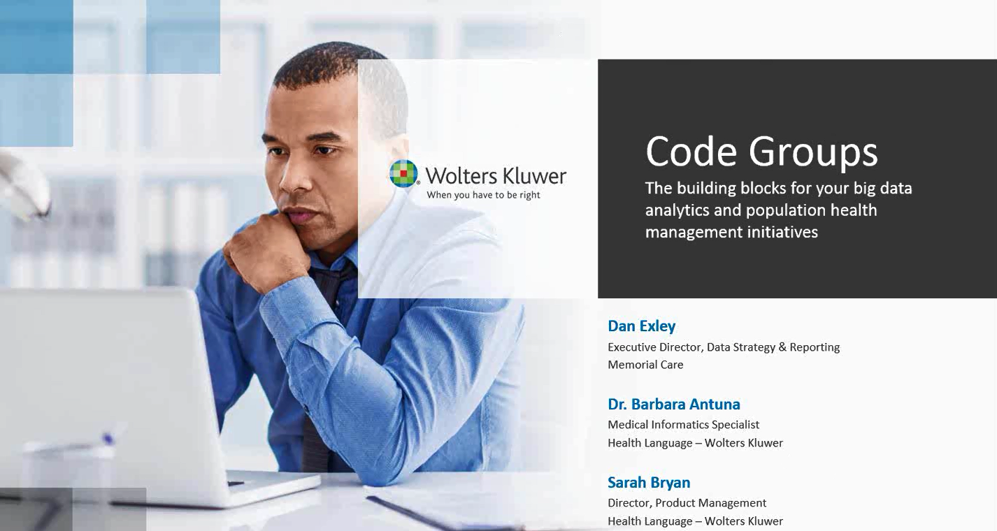Webinar Recap: Code Groups – The Building Blocks for Your Analytic Initiatives