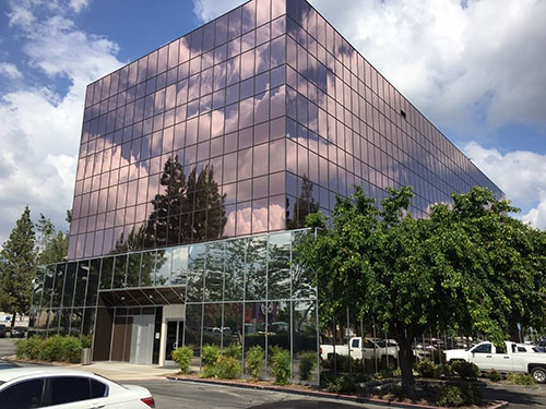 Bronze Building Wrap in Burbank, CA