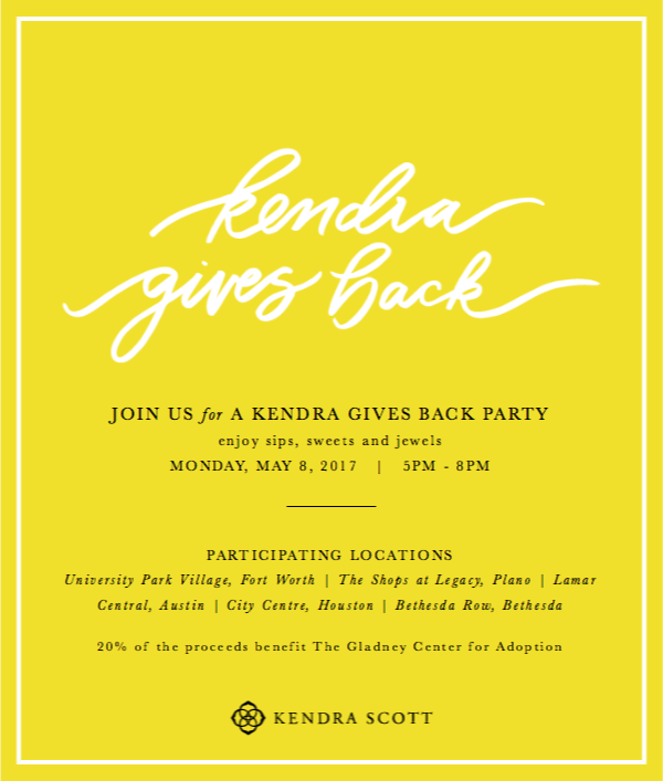 Kendra Scott Gives Back to Gladney