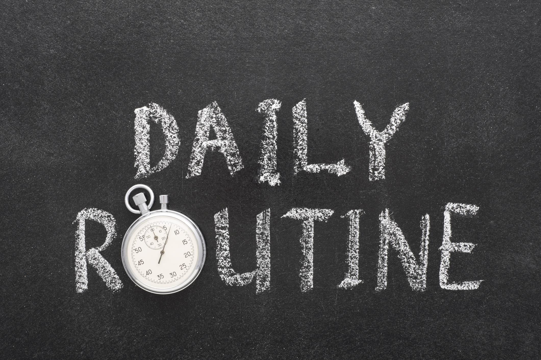 RMS POS daily routine