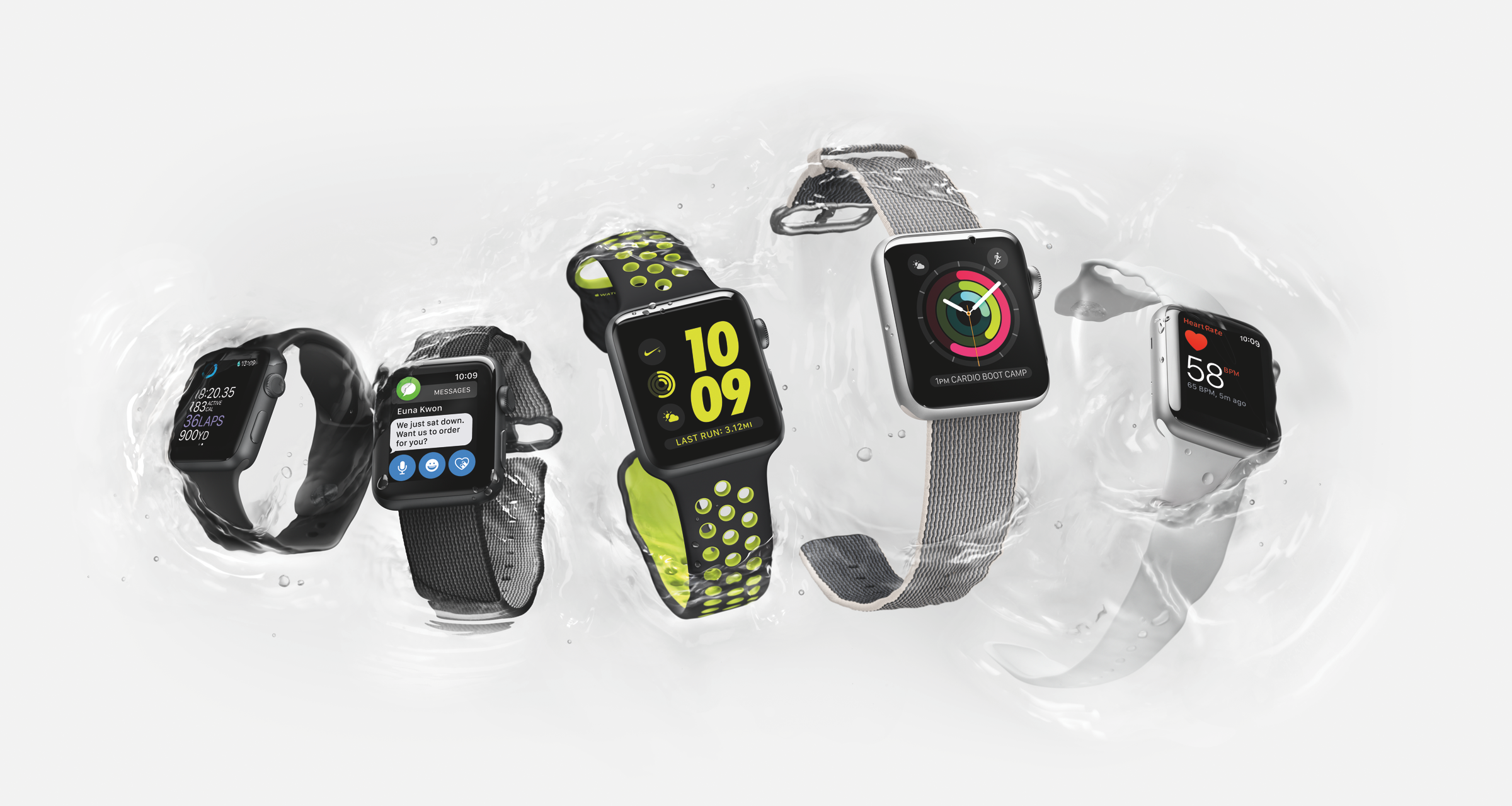 waterproof apple watches